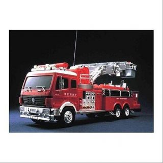 Doyusha Super Big Scale RC Ladder Fire Truck Toy  Japanese Hobby