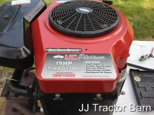 Briggs and Stratton 19 HP Turbo Cool Twin Cylinder Engine See Running Video