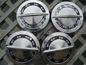 Ford Galaxie Pickup Truck Hubcaps Wheel Covers Center Caps Antique Vintage Rims