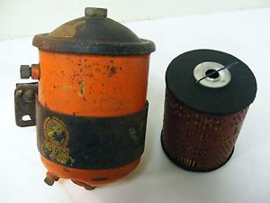 Vintage Fram Remote Oil Filter Cannister Hot Rat Rod Chevy Ford Dodge Buick
