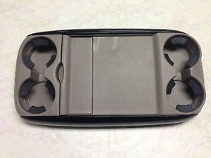 2004 2010 Toyota Sienna Center Console Flip Up Tray Table w Cup Holder