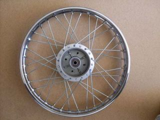 Honda Complete Rear Wheel Rim CD50 CD70 C70 C50 C110