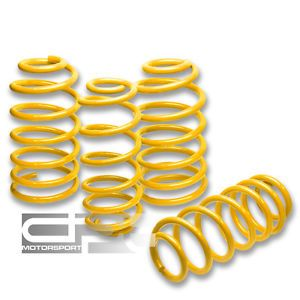 "Mazda 6 Atenza MPS 626 Yellow Suspension Coil lowering Springs 2""Front Rear Drop"