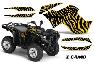 Yamaha Grizzly 700 550 Graphics Kit Creatorx Decals Stickers ZCY