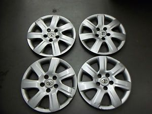 "Toyota Camry Hubcaps Wheel Covers 2010 2011 16"" Set of 4 61155"