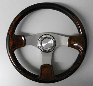 Yamaha Golf Cart Rhino Golf Cart Wood Grain Style Steering Wheel 200Y