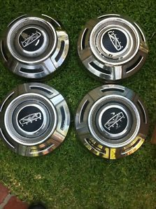 1967 1968 1969 1970 1971 1972 Ford F250 Pickup Truck Dog Dish Hubcaps Stainless