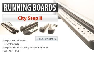 Sienna Toyota Black Running Side Step Boards Rails