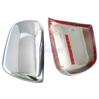 Chrome Side Mirror Cover Trim Pair Fit for Toyota Sienna 2011 2012 2013 MA313