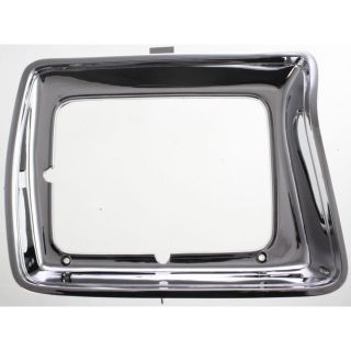 New Headlight Door Bezel Driver Left Side Chrome F150 Truck F250 F350 LH Hand