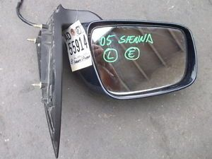2005 Toyota Sienna Left Driver Door Mirror Used Car Parts Fits 04 05 06 07