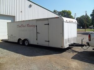 Haulmark 24' Enclosed Trailer Race Drag Cars Motorcycles Boats Lawn Care Ohio
