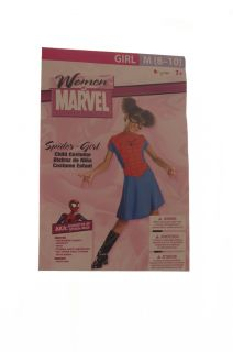 Marvel Spider Girl Daughter of Spiderman Super Hero Dress Glasses Girl 8 10 New