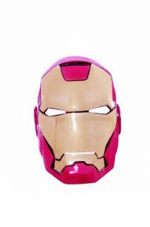 Boys Childrens The Avengers Iron Man Mark VII Child Halloween Costume Mask New
