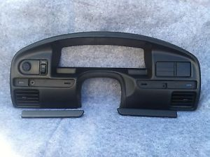 92 93 94 95 96 Ford F150 F250 F350 Bronco Radio Bezel Vents Dash Trim XL