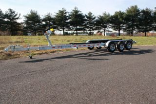 New Aluminum Galvanized Boat Trailers Triple Axle Tandem Axle Used