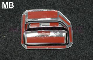 Polished 06 10 Honda Ridgeline Chrome Door Handle Covers 4 Door 8PC Set Tape