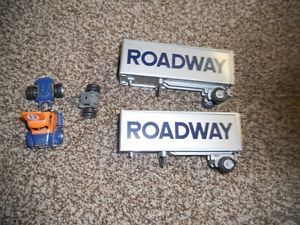 Roadway Express Diecast Truck Trailers