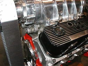 6 71 Blower 454 Chevy Complete Street Engine 671 Ready to Run Aluminum Heads