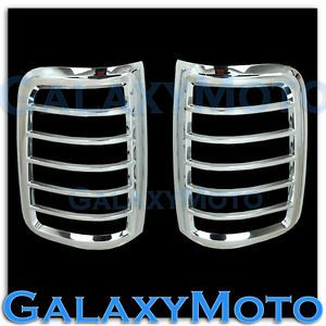 04 08 Ford F150 Styleside Truck Triple Chrome Taillight Tail Light Lamp Cover