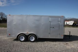2012 Wells Cargo Trailers Fasttrac 7' x 16' Aluminum Enclosed Cargo Trailer