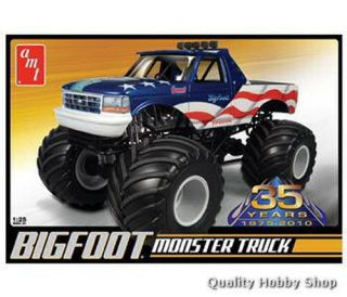 AMT 1 25 Bigfoot Ford Monster Truck Plastic Model 668