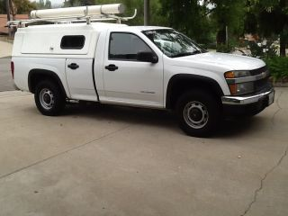2005 Chevy Colorado Regular Cab Ultimate Work Truck Utility Bed Utility Rack