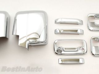 Ford F150 Chrome Door Tailgate Handle Mirror Cover
