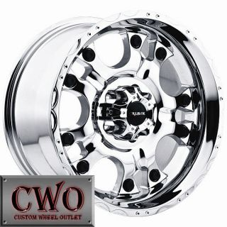 17 Chrome Hostel Wheels Rims 6x135 6 Lug Ford F150 Expedition Lincoln Navigator