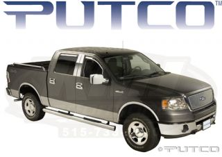 Putco 405020 2004 2008 Ford F150 XLT FX4 Lariat Complete Chrome Accessory Kit