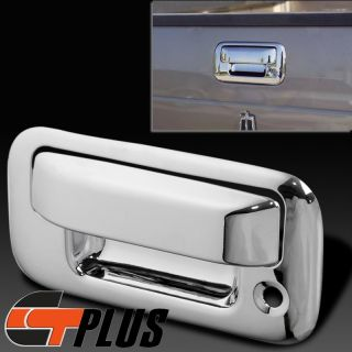2008 2012 Ford F150 F250 F350 Super Duty Triple Chrome Tailgate Handle Cover Set