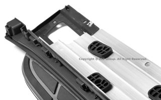 Porsche Cayenne 11 14 Aluminum Running Board Side Steps Nerf Bars Gunmetal Black