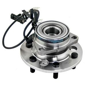 New Front Wheel Hub Bearing Assembly 4WD w ABS Sensor Chevy GMC Pickup SUV