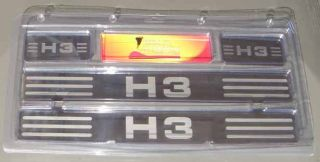 Hummer H3 Door Sill Plates Protective Chrome Step Cover