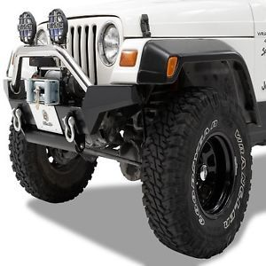 Bestop Highrock 4x4 SS Tubular Grill Guard for 07 13 Jeep Wrangler Unlimited