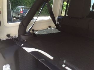 Jeep Wrangler JK Unlimited 4 Doors Cargo Trunk Cover
