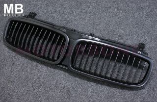 BMW E65 66 Front Center Grille 02 05 Kidney Style Black