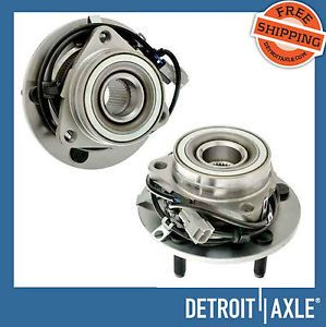 Both New Front Wheel Bearings Assembly Dodge RAM 1500 4x4 ABS Pair