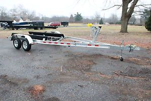 Aluminum Roller Bunk Trailers New Used Boat Trailers Single Tandem Axle