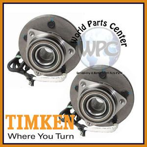 TIMKEN 2 Front Wheel Bearing Hub Assembly 2000 2004 Ford F150 4 Wheel ABS 4x4