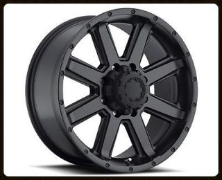 17x8 Ultra 195 Crusher Black Rims Toyo 285 70 17 Open Country AT2 Tires Wheels