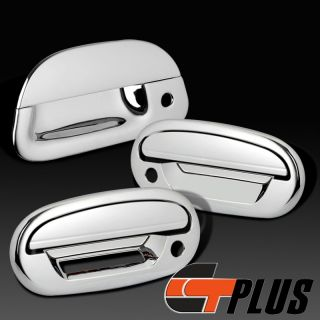 1997 2003 Ford F150 Pickup Truck Chrome 2 Door Handle Tailgate Cover Trim w PSKH