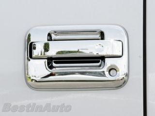 Triple Chrome Door Handle Trim Kit Ford F150 Lightning