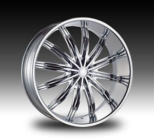 "28"" Chrome Wheels Tires 5x139 7 Dodge RAM Durango 1500 295 25 28"