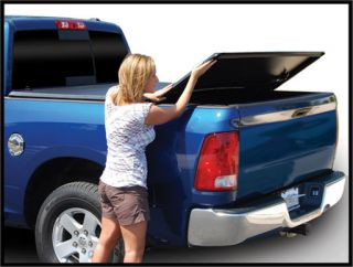 Nissan Frontier 5 ft Bed with Utility Track Tonneau Cover Tri Fold 2005 2013
