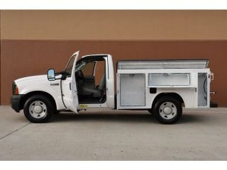 2006 Ford F250 XL Utility Bed Power Stroke Turbo Diesel 2WD 1 Ownr 8 Toolboxes