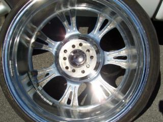 "Wired Brand Luxury Alloys Wheels WI19 20"" Chrome Rims Toyo Low Profile Tires"