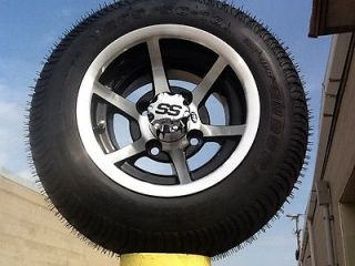 Golf Cart Wheel and Tire Combo Fits Non Lifted Club Cars EZGO ITP 6 Spoke Rims
