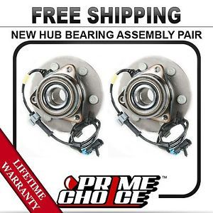 Pair 2 New Front Wheel Hub Bearing Assembly with Lifetime Warranty