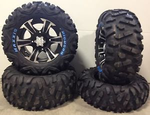 "ITP SS312 14"" Wheels Black 26"" Bighorn Tires Polaris Ranger 900 XP"